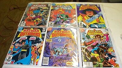 Batman And The Outsiders 1-32 Annuals 1,2 Adventures Of The Outsiders 33-46 Nice