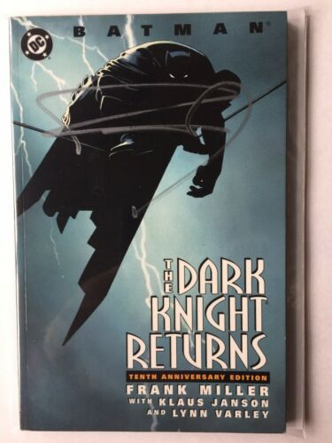 Batman The Dark Knight Returns 10th Anniversary Edition SIGNED FRANK MILLER TPB