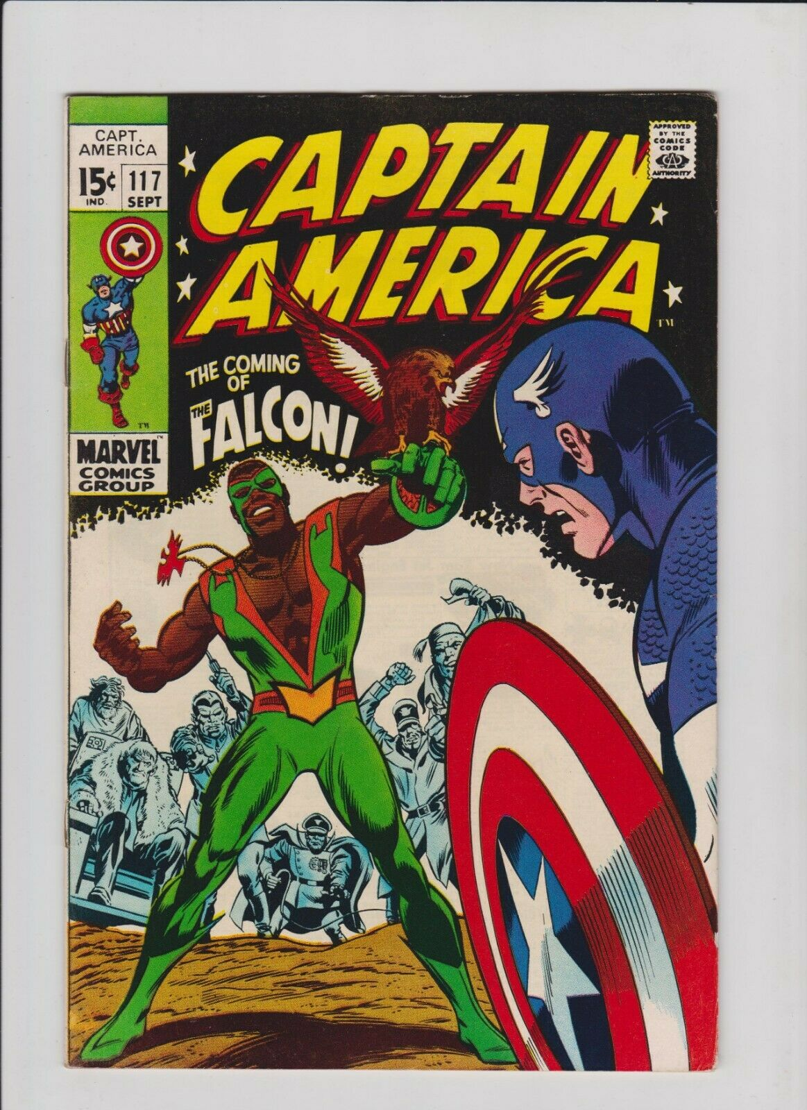 Marvel Comics Captain America #117 & 118, 1st & 2nd App. of Falcon