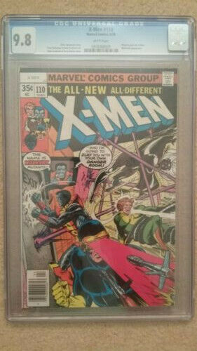 Uncanny X-Men (1st Series) #110 1978 CGC 9.8 White Pages