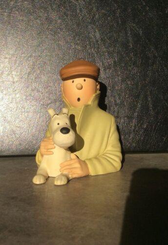 Tintin le petit buste casquette. L'oreille cassée. Pixi regout. HERGÉ
