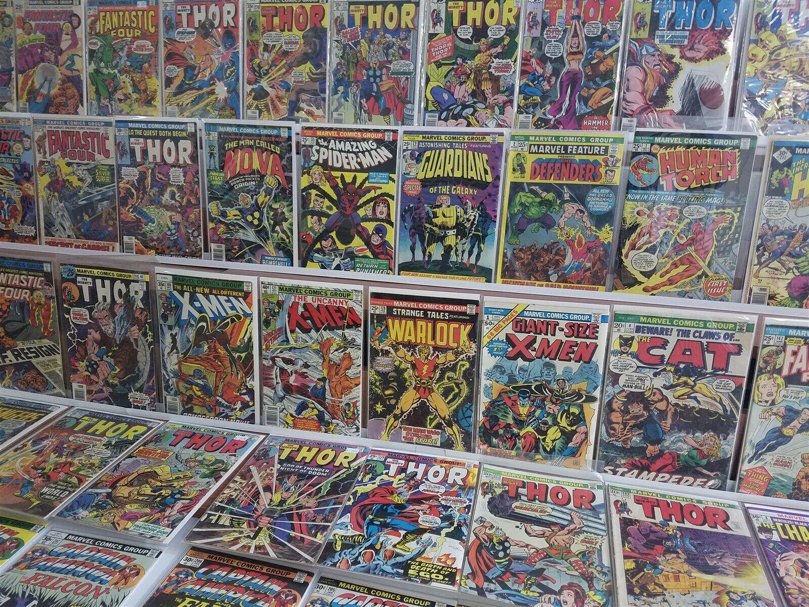 Marvel Bronze 250+ Lot Giant-Size X-Men #1 Wolverine Strange Tales 178 Warlock
