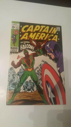 Captain America #117 (1st Falcon) & #118  - 1969, Marvel Silver Age
