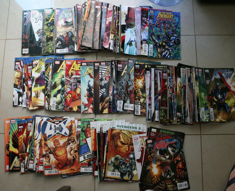 150 Avenger Comic Lot: New Avengers, Dark Avengers, Utlimate Avengers, Young Ave