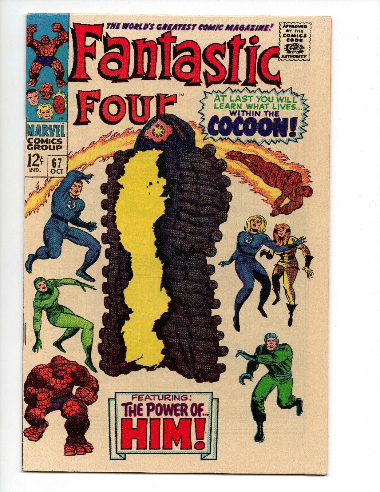 Fantastic Four #67 (1967 Marvel Comics)  - Origin/first app. of HIM (Warlock)