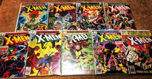 Uncanny X-Men # 101, 105, 128, 132, 133, 134, 135, 136, 137  Dark Phoenix Saga