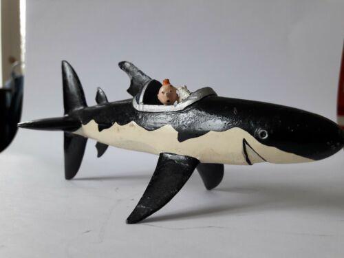 Tintin et Milou dans le requin Pixi plomb (le trésor de Rackham le rouge)