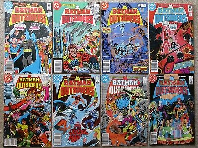 48 BOOK  BATMAN AND THE OUTSIDERS FULL RUN 1-32 + THE OUTSIDERS 1-15 + ANNUALS