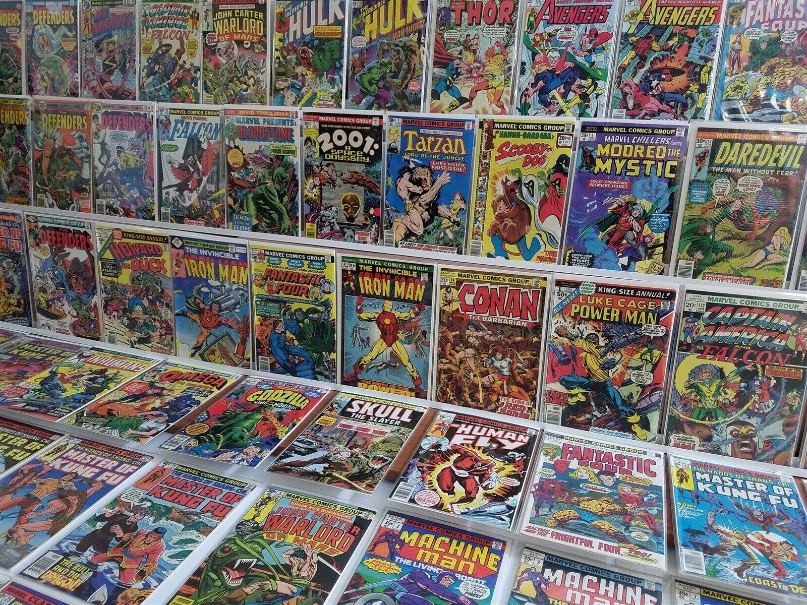 100 All HIGH GRADE Marvel Bronze Lot Conan 24 Iron Man 118 Rhodes Godzilla 1
