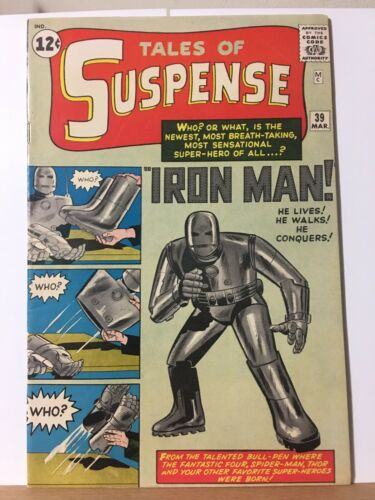 Tales of Suspense #39 (Mar 1963, Marvel) Very fine Condition