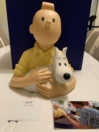 Tintin Leblon Delienne Buste Dédicace Absolument Neuf No Pixi