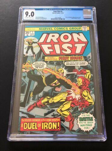 SOLD LOT of 2-Iron Fist #1-CGC 9.0-Iron Man 100