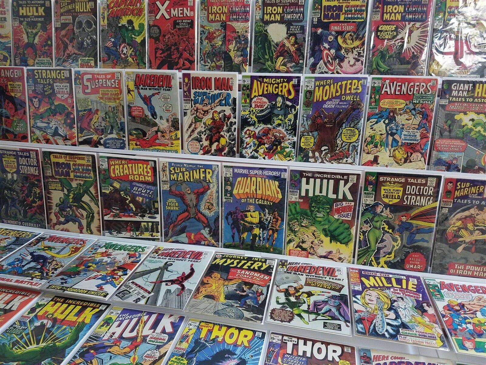 100 All Marvel Silver Lot Superheroes 18 1st Guardians Hulk 102 Iron Man Subby 1