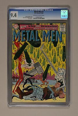 Metal Men (1st Series) #1 1963 CGC 9.4 0186675028