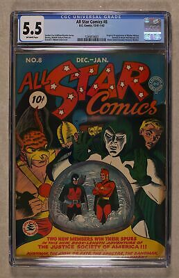 All Star Comics #8 1941 CGC 5.5 1245814003