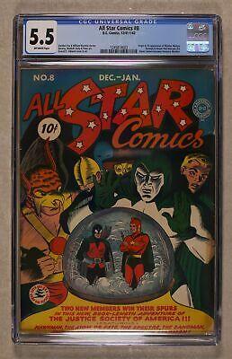 All Star Comics #8 1941 CGC 5.5 1245814003