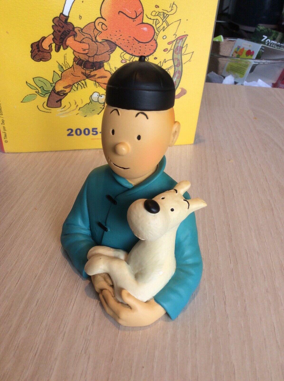 Tintin Buste Pixi Le Lotus Bleu
