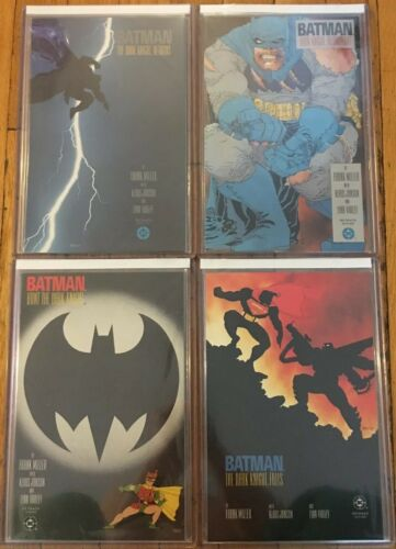 BATMAN: THE DARK KNIGHT RETURNS #1-4 MILLER NM 1ST PRINTS + 30th Anniv. TPB
