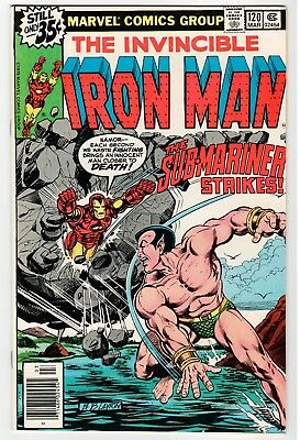 Marvel INVINCIBLE IRON MAN #120 - NM Mar 1979 Vintage Comic