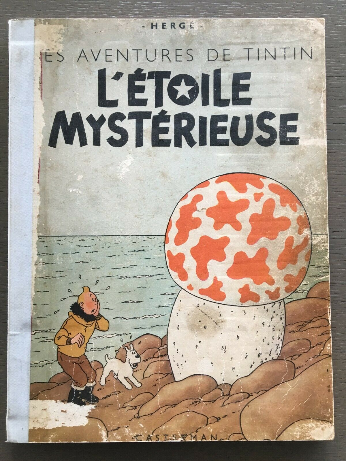 BD TINTIN L'étoile mystérieuse B1 de 1946 Casterman