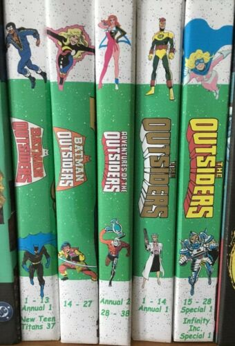 Custom Bound Collection Batman And The Outsiders 1-38, Outsiders 1-28 And More