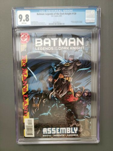 Batman legends of the dark knight #120 CGC 9.8. 1st Batgirl Cain Costume. DC