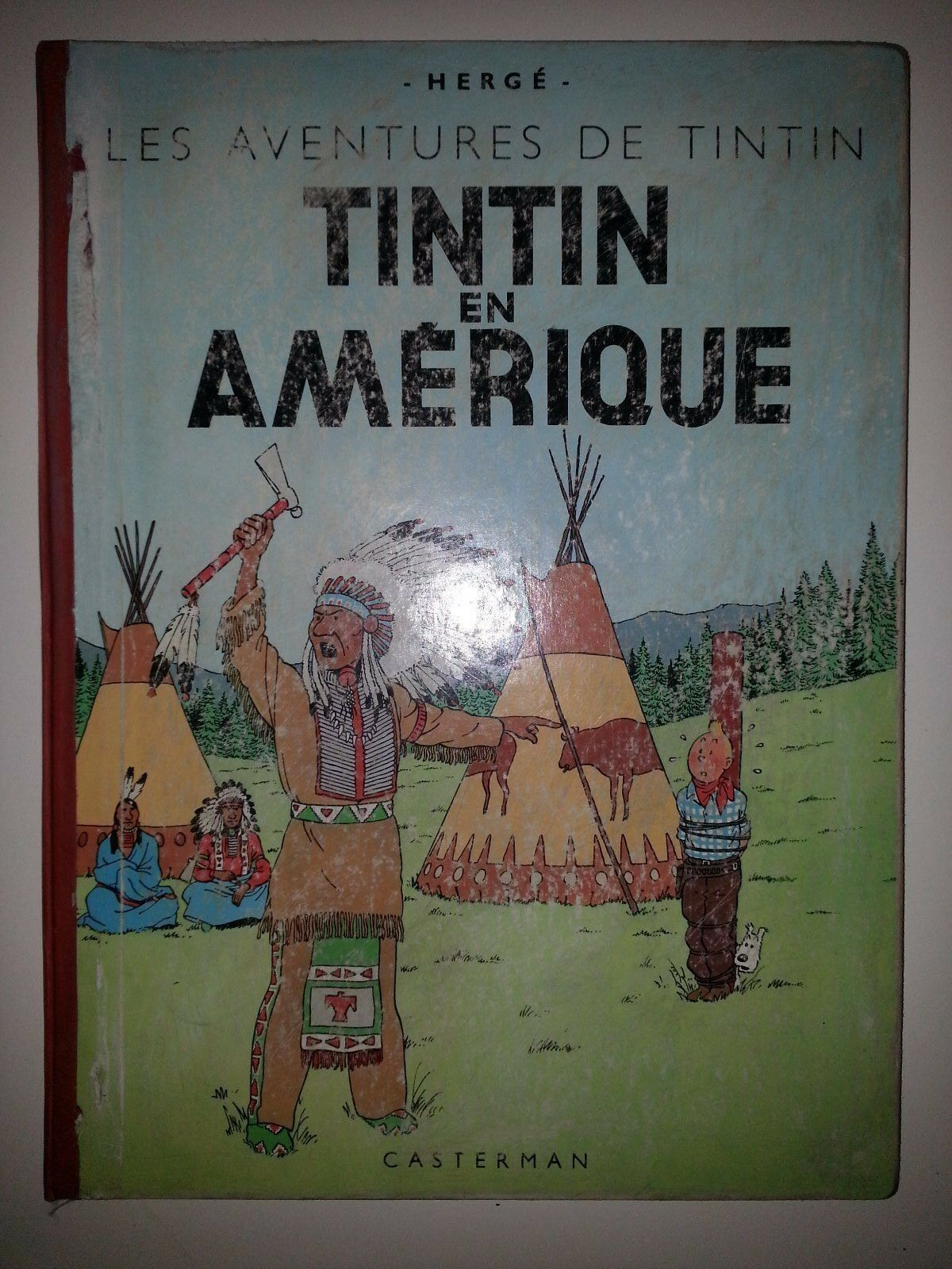 TINTIN EN AMERIQUE  B1   © 1946  BE