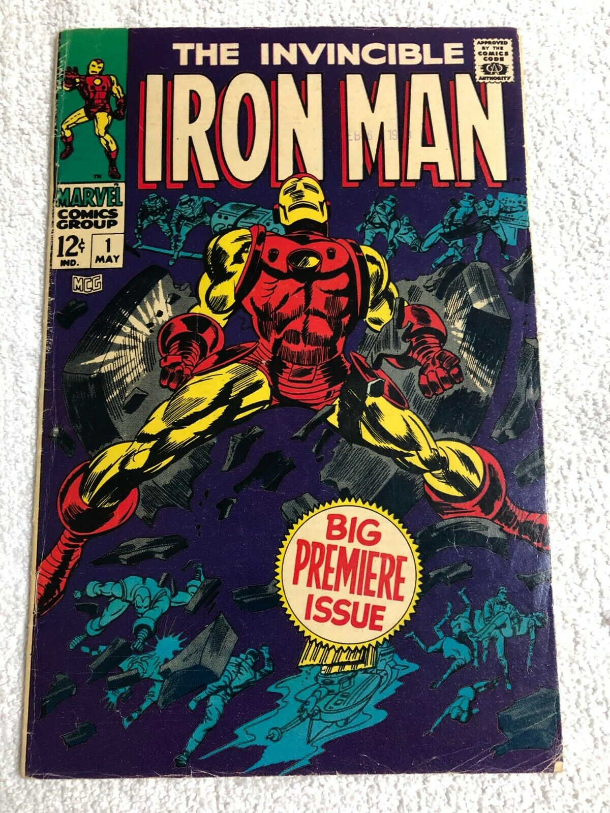 Iron Man (vol 1) lot of 96 issues; 1 to 100