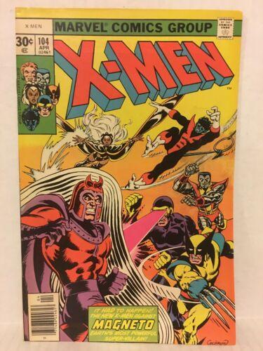 Uncanny X-Men 6 Comic Lot 104 106 107 108 109 110 1st App Starjammers