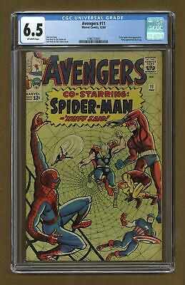 Avengers (1st Series) #11 1964 CGC 6.5 1396773001