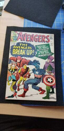 Avengers # 10 avengers break-up and first time avengers unite is said