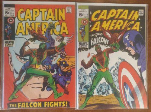 Marvel Captain America #117 & #118