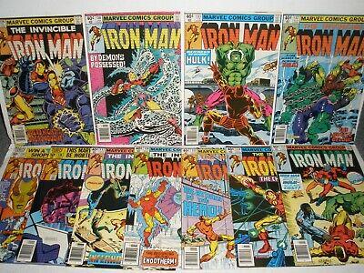 Iron Man # 129 130 131 132 133 134 135 136 137 138 139 Higher Grade Run