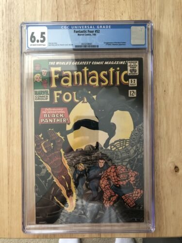 fantastic four 52 CGC 6.5. First Black Panther