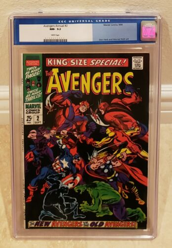 The Avengers Special #2 White Pages New Avengers Vs. Old Avengers