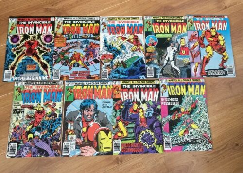 IRON MAN Comics 122,123,124,125,126,127,128,129,130 VF '79 Demon In A Bottle Ant