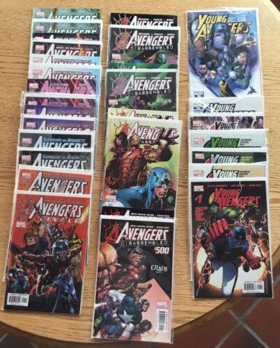 Young Avengers Comics 1-7/The Avengers 500-503/EMH Avengers 492-499 & EMH 491?