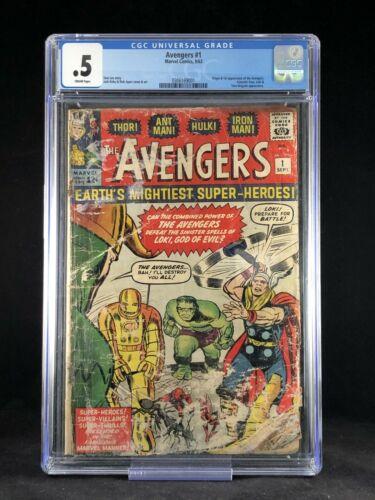 The Avengers #1 CGC 0.5 (COMPLETE) 1963
