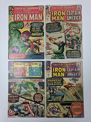 Marvel Comics Tales of Suspense 55-98 (37 comics) Set Lot Run Red Skull