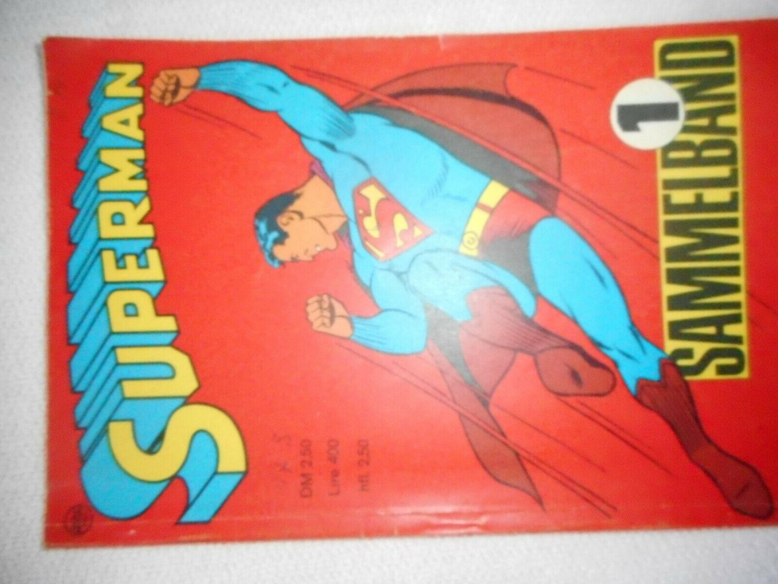 Superman Sammelband Nr. 1 - 1967 (mit den Heften 1-4 von 1966) Ehapa Verlag - Z2