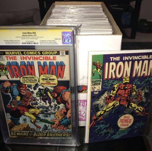 IRON MAN COLLECTION #1-100 FULL RUN High Grade Copies CGC 9.4 9.6 Many NM