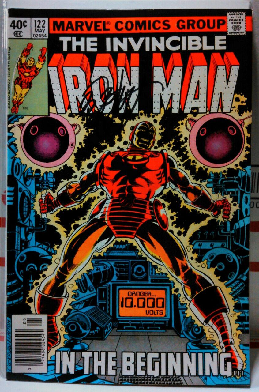 IRON MAN #122 SIGNED BY BOB LAYTON Marvel Comics INVINCIBLE Avengers ENDGAME