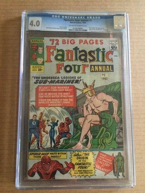 Fantastic Four Annual 1 CGC 4.0