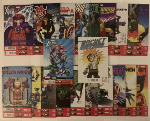Superior Spider-Man Thor Avengers Deadpool LEGO Variant Complete Set
