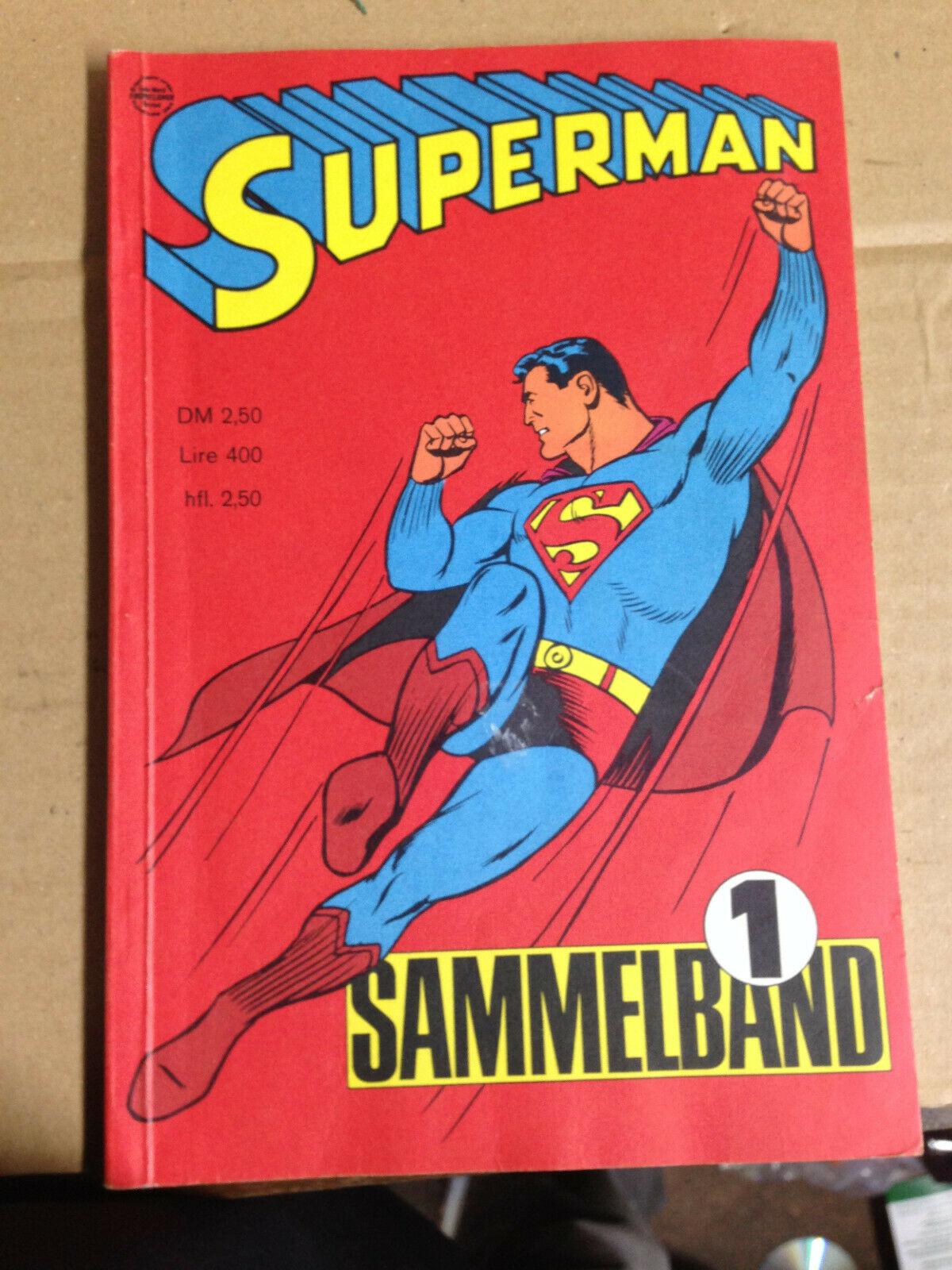Superman Sammelband Nr. 1  von 1966 Ehapa Verlag