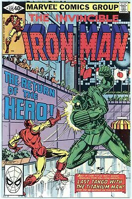 Iron Man #135, 136 and 137 VF to NM (3 books total)