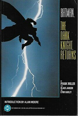 Batman: The Dark Knight Returns / US TPB / Frank Miller / First Printing 1986