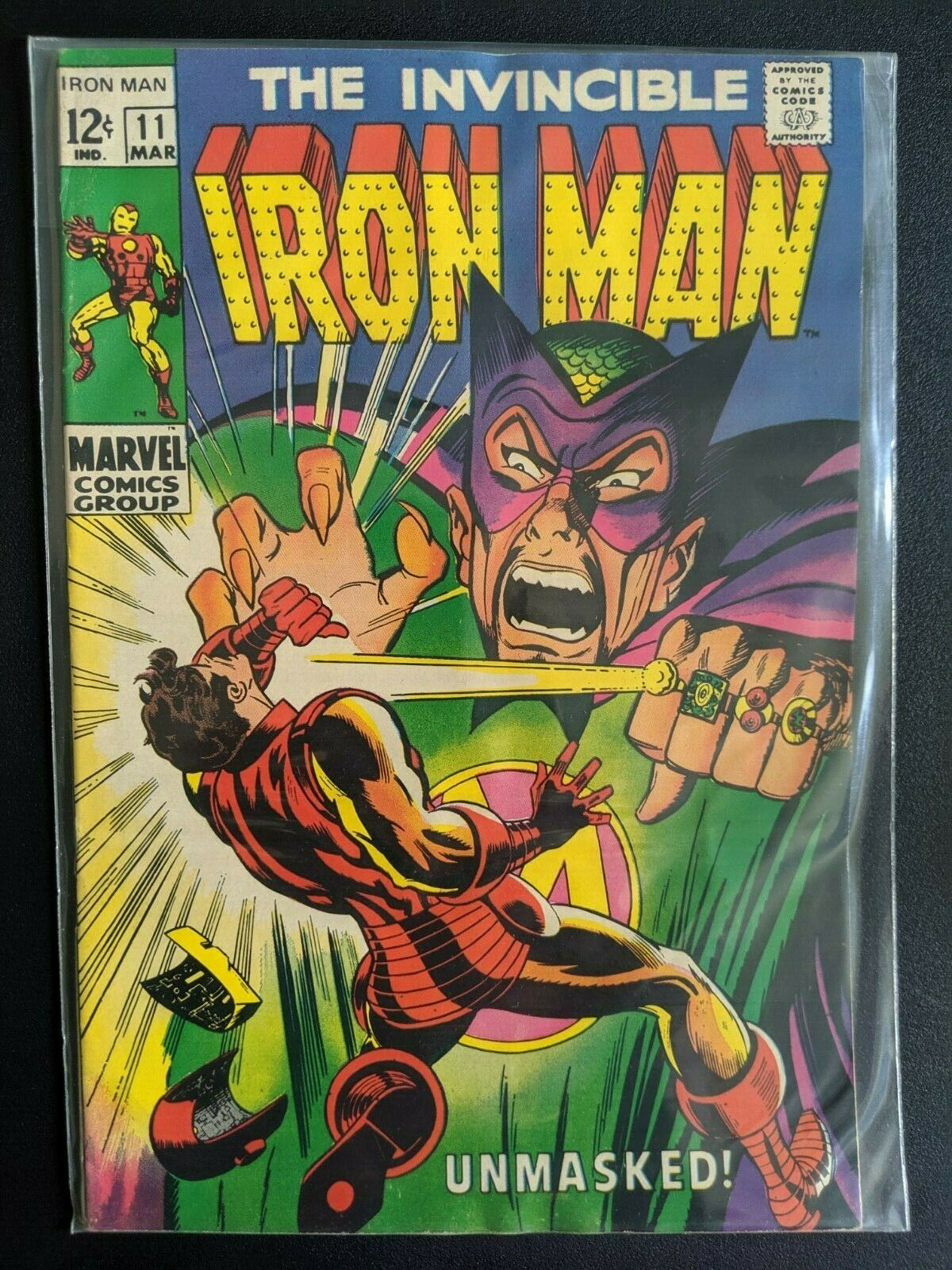 Invincible Iron Man (Silver Age) 2, 3, 5, 7, 11, 13, 22, 24, 27  The Mandarin