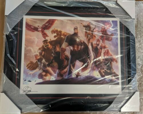 Avengers Team Captain America & Team Iron Man Set #10/300 Sideshow Alex Garner