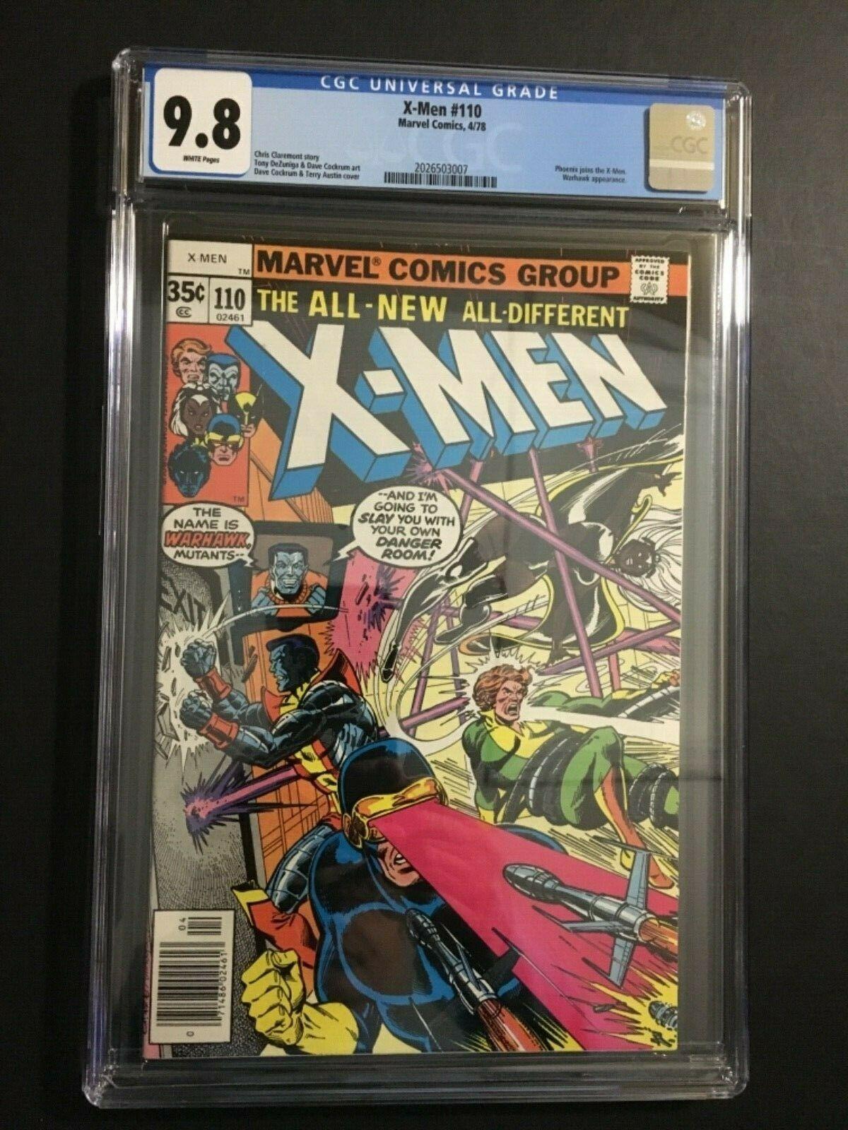 X-MEN UNCANNY #110 (4/78) CGC 9.8 NM/MT W/P PHOENIX JOINS THE X-MEN MARVEL